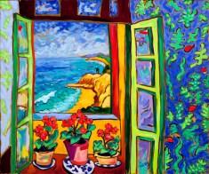 Kelp Bed Cove - Matisse Windows Series by Cathy Carey ©2014
