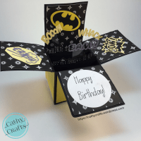 Batman Pop Up Box Card