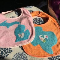 Baby Bib Fabric Iron-Ons