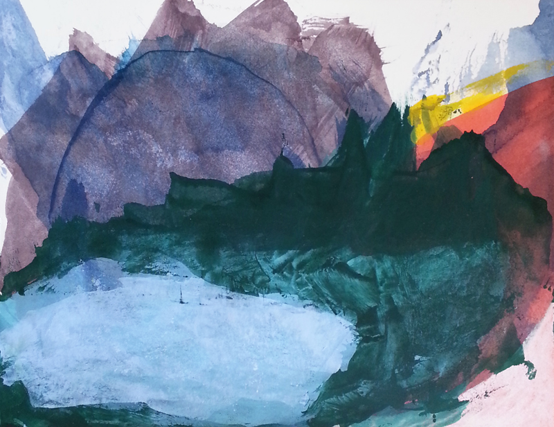 Abstract landscapes by Cathy Durso