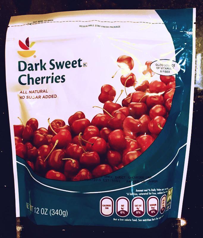 Eating cherries helped me to lose 21 lbs