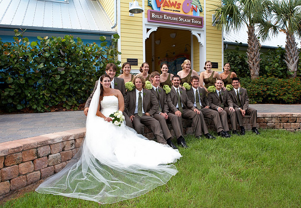 Zoo Wedding Recap :  wedding brown ch515 feather fern green hypericum berries lime publix recap wedding zoo 908252170 MYyAx M
