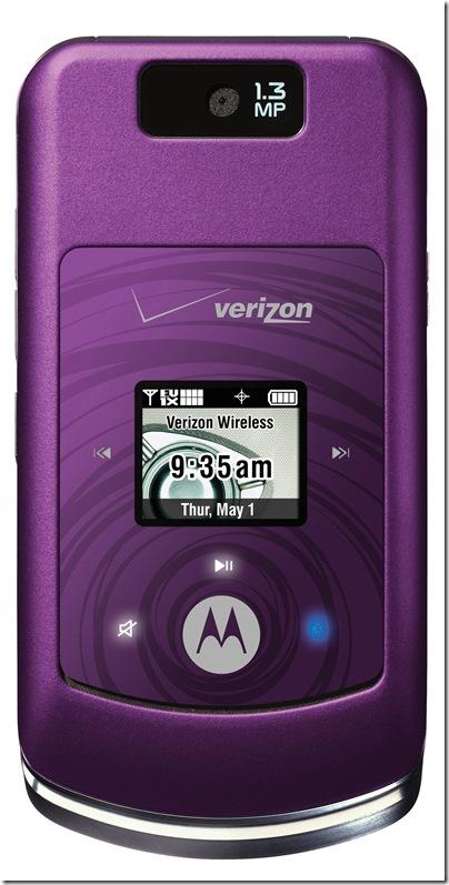 Motorola MOTO™ W755 in purple
