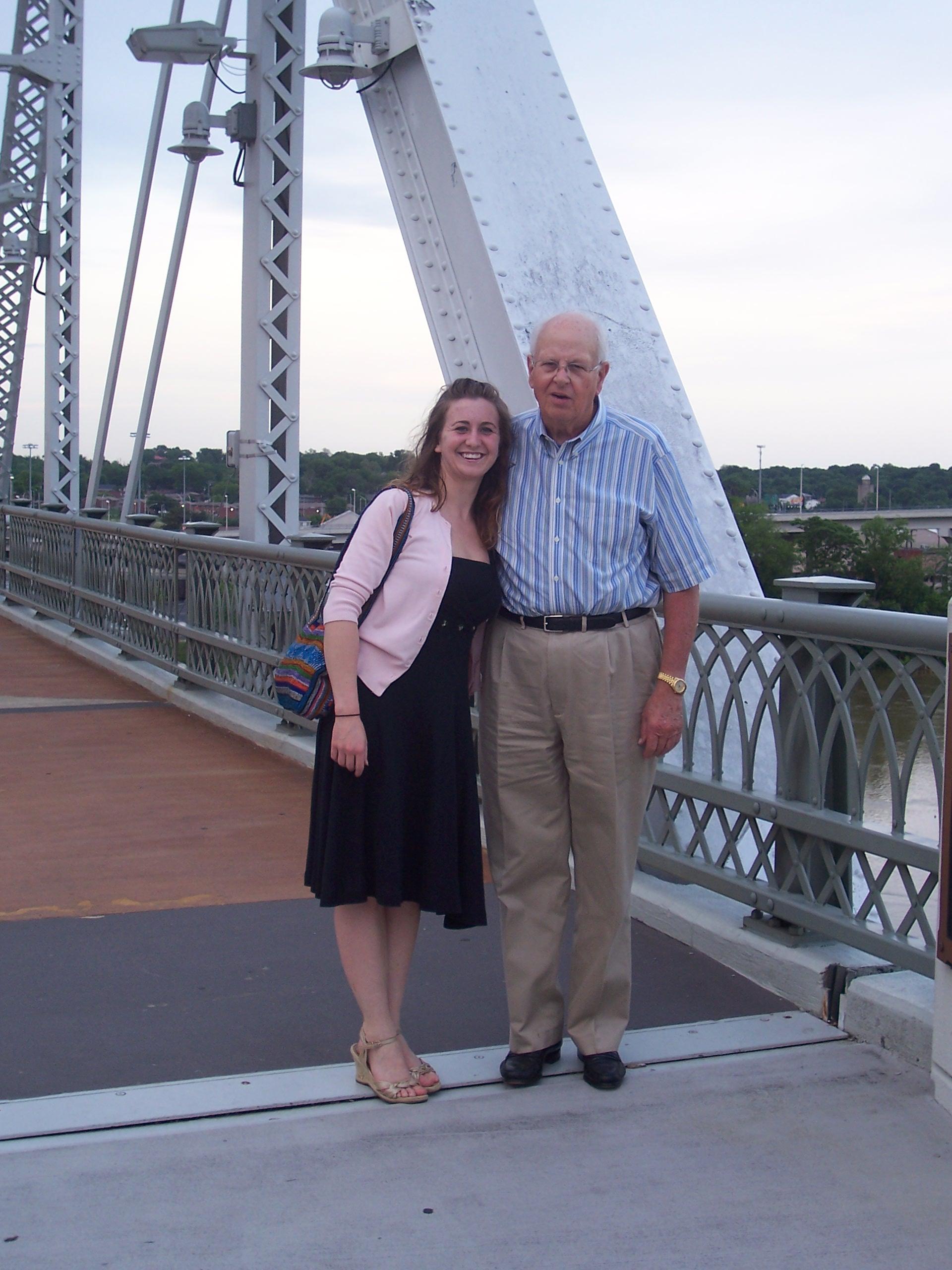 Shelby Street Walking Bridge, Nashville, Tennessee
