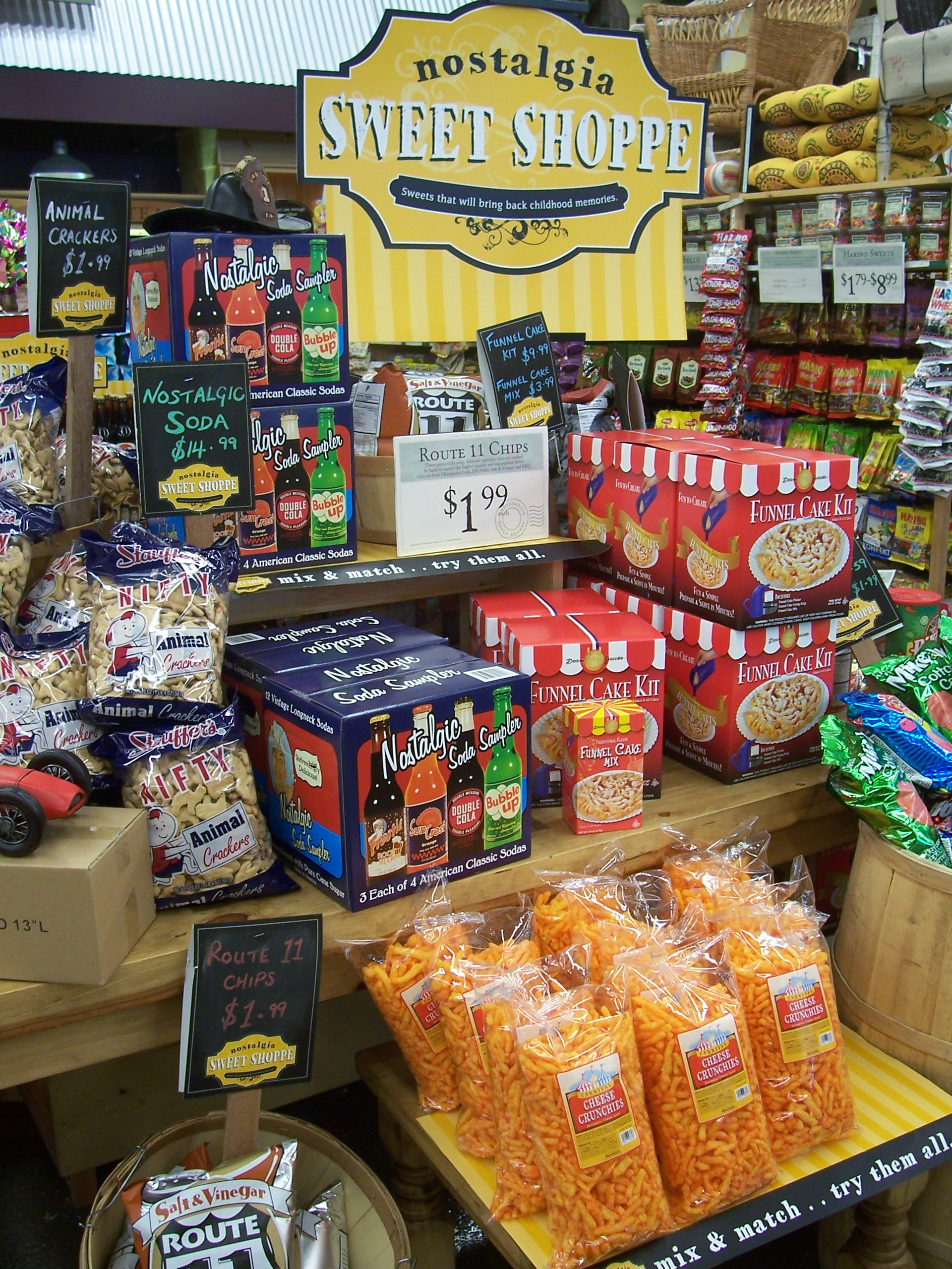 World Market candy