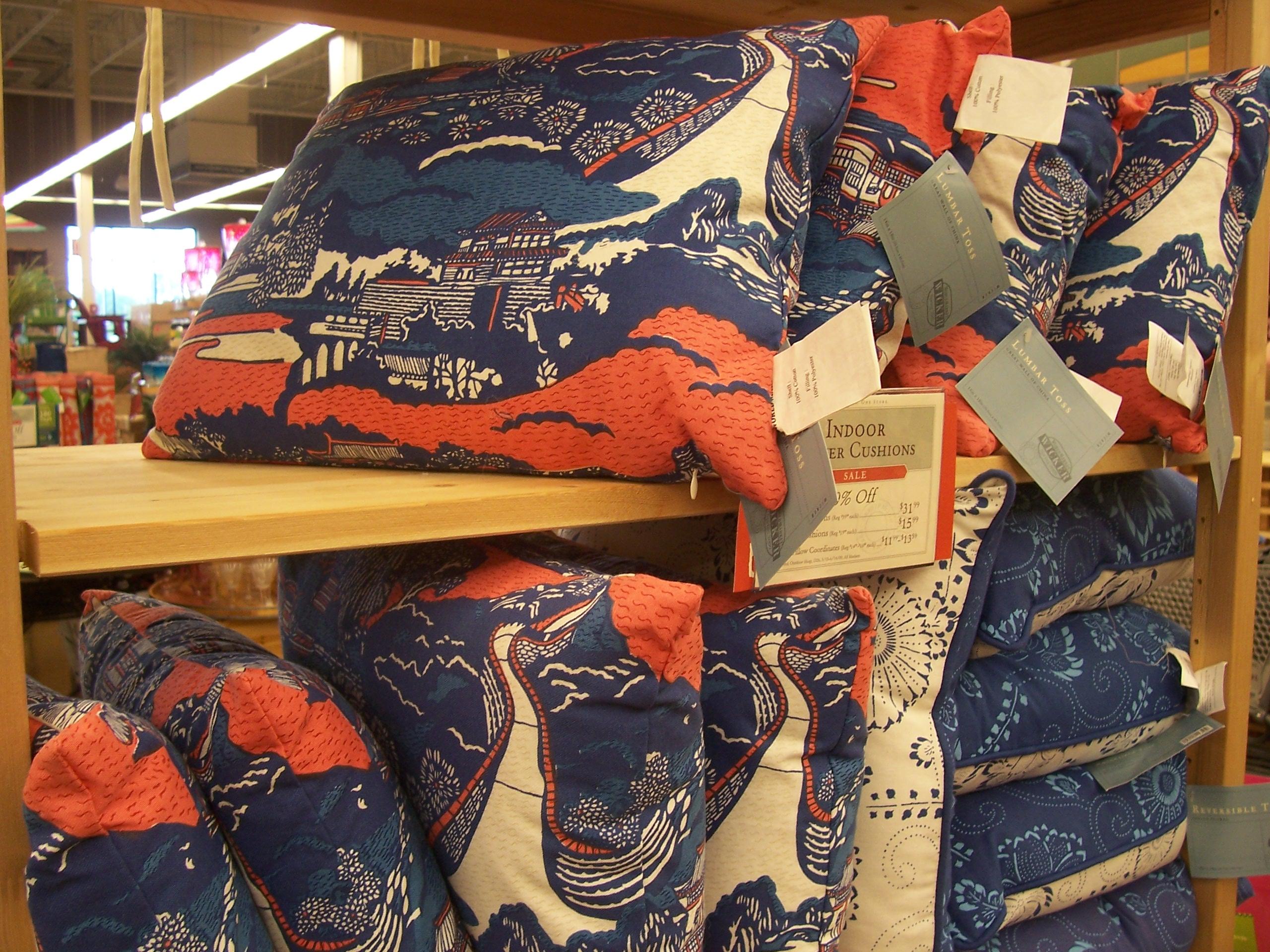 World Market pillows