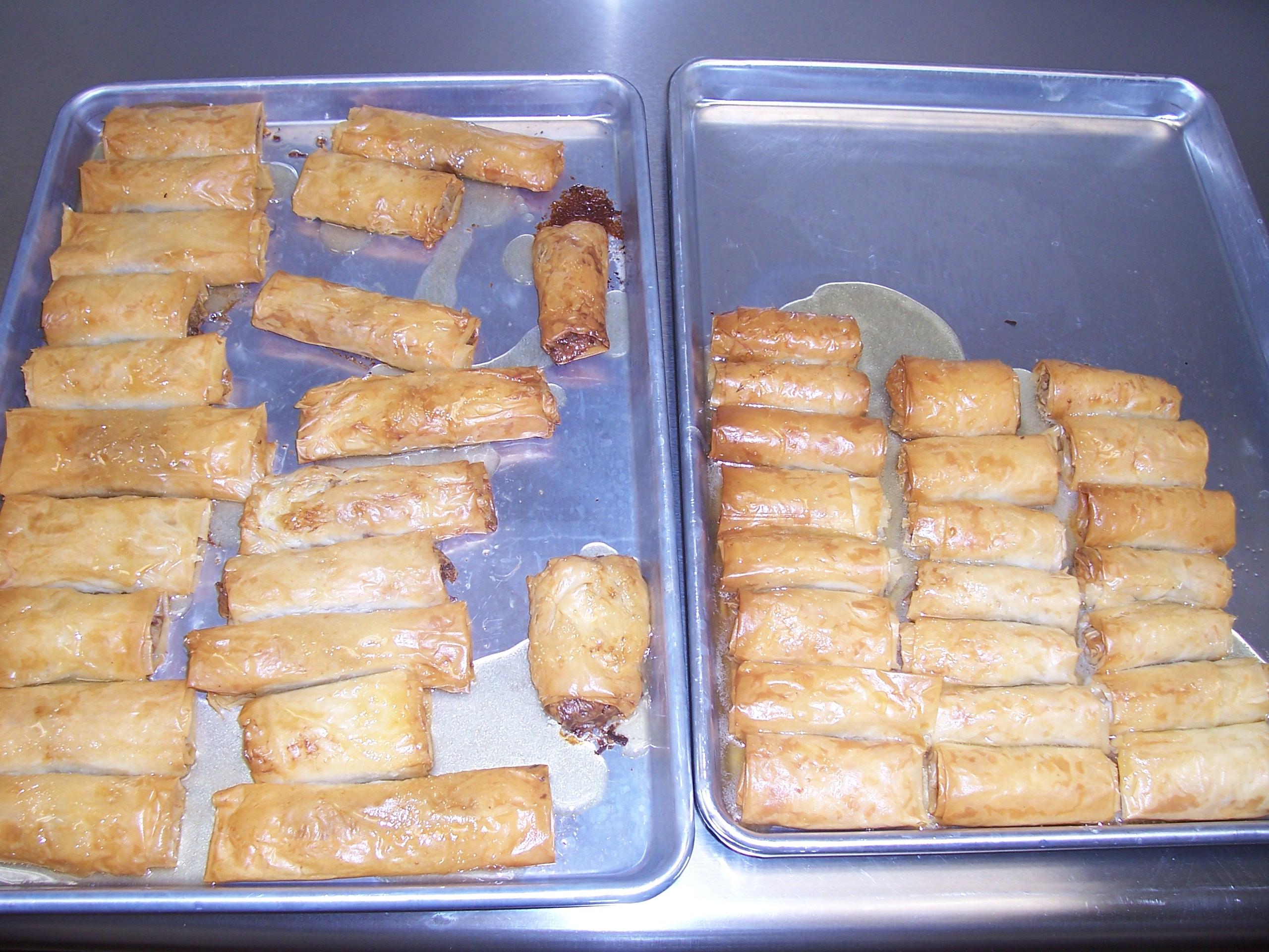 Baklava -- Greek cooking class