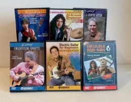 Thanks to HOMESPUN TAPES for donating these instructional DVD's