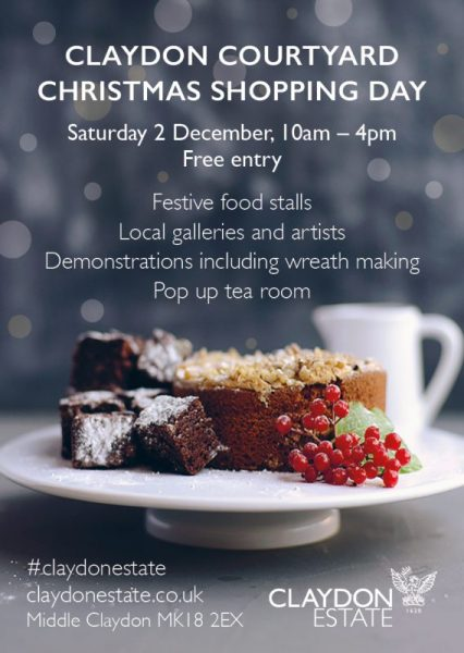 Claydon Courtyard Christmas flyer