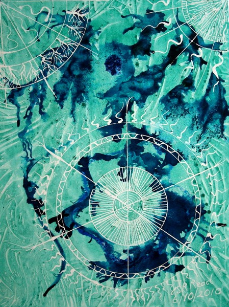 ©2011 Cathy Read - Nautical Values -39 x 30cm-Acrylic on Canvas