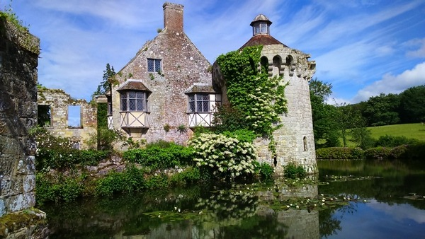 My first choice of view ©2016-Cathy Read-landscape artist of the year Scotney Castle-