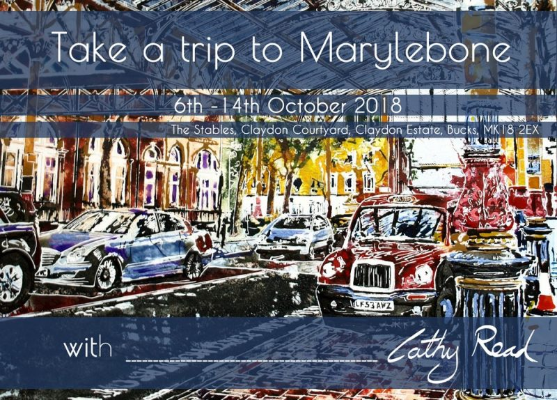 Take a Trip to Marylebone Exhibition at The Stables Claydon Courtyard