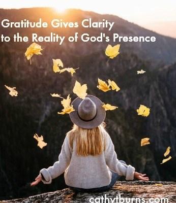 Gratitude Redeems Life's Struggles