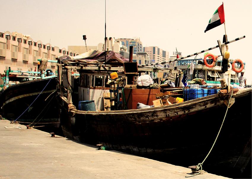 Photography: Dubai Creek and the Souks (4/6)