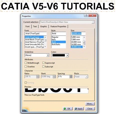 How To Write A Text In CATIA In 5 Steps