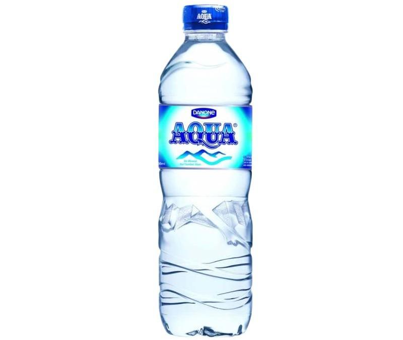 Aqua 600 ml @ Rp. 5.000