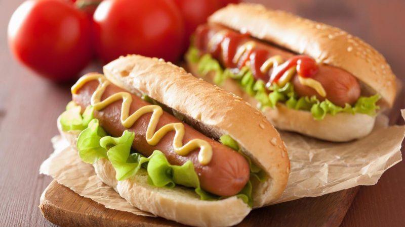 Roti Hotdog Mini