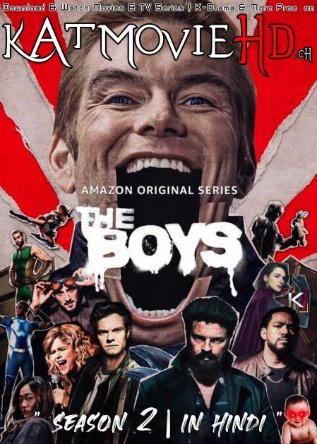 The Boys (Season 2) Dual Audio [ Hindi 5.1 – English ] 480p 720p HDRip | The Boys Netflix Series
