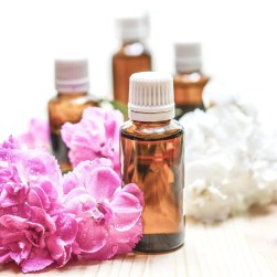 essential oil samples for natural flea treatments on cats