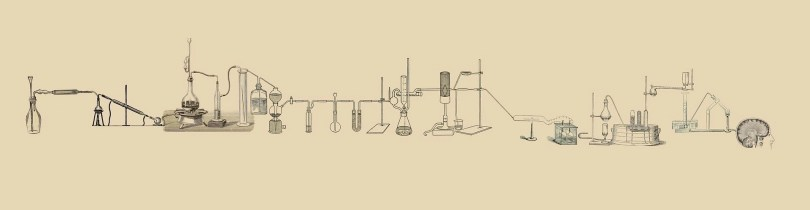 drawing of lab test equipment