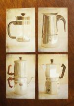 Vintage Coffee Pot Print Set