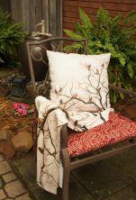 Birds in Tree Fleece and Pillow