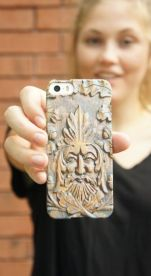 Carved Look Phone Case