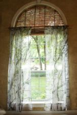 Nature Inspired Sheer Curtains