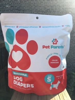 pet parents brand dog diapers