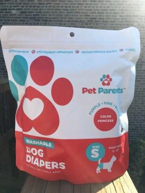 pet parents brand dog diapers