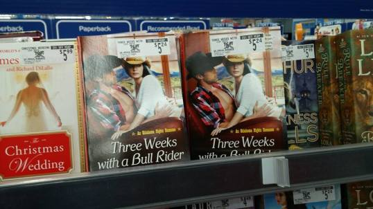 Three Weeks with a Bull Rider paperback