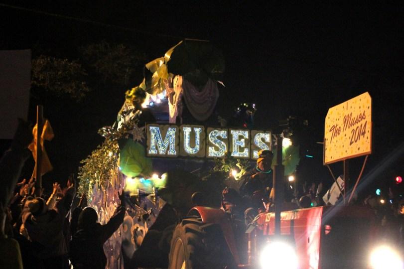 Mardi Gras - Muses