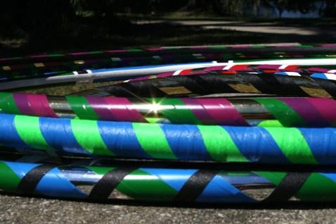 Colorful Hoops