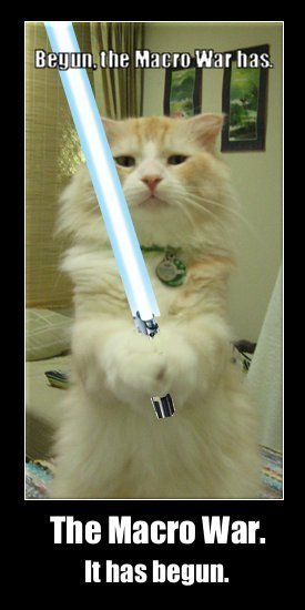 macro war flamewar has begun star wars lol cat macro