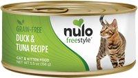 Nulo Freestyle Duck & Tuna Recipe Grain-Free Canned Cat & Kitten Food