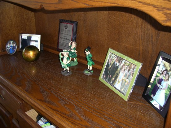 The display section of my China Cabinet.
