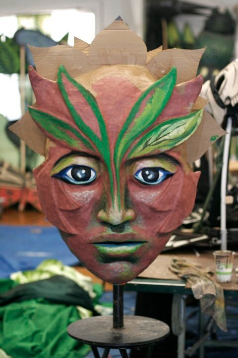 Forest Goddess Head IV (In progress)