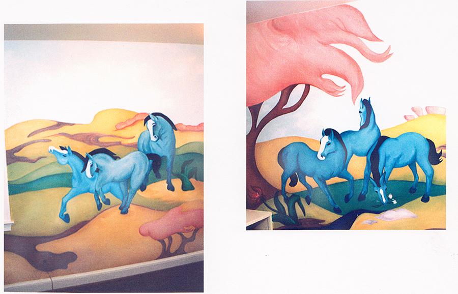 Pony Mural