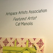 CAT MANOLIS- ART SPACE Featured Artist! Feb-Mar 2013