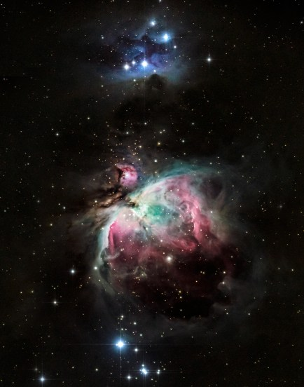 Orion Nebula taken at Spencer's Observatory located in Tucson, AZ. Open to public for astronomy viewing. Astrophotography by Sean Parker Photography.