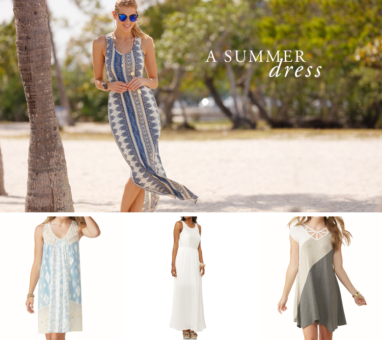 A Summer Dress. Examples shown.