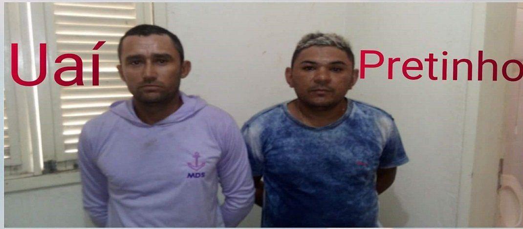 Polícia Militar prende elementos por tráfico de drogas em Patu/RN