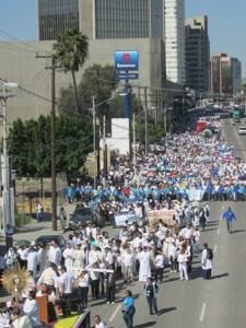 La marcha provida de Tijuana es noticia internacional