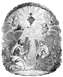 Trisagios  a La  Santma. Trinidad  y al  Sagrado Corazón  de  Jesús .  Con el ejercicio del Via-Crucis