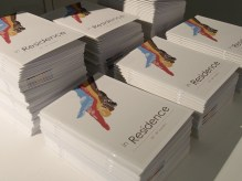 Brochures for the exhibition
