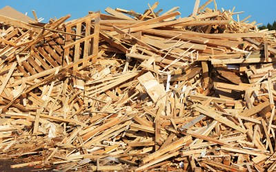 The benefits of recycling wood waste