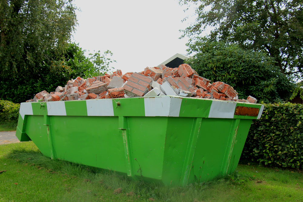 What happens when you recycle your building waste?