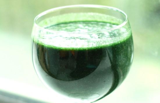 jus de spiruline (spiruline+eau)