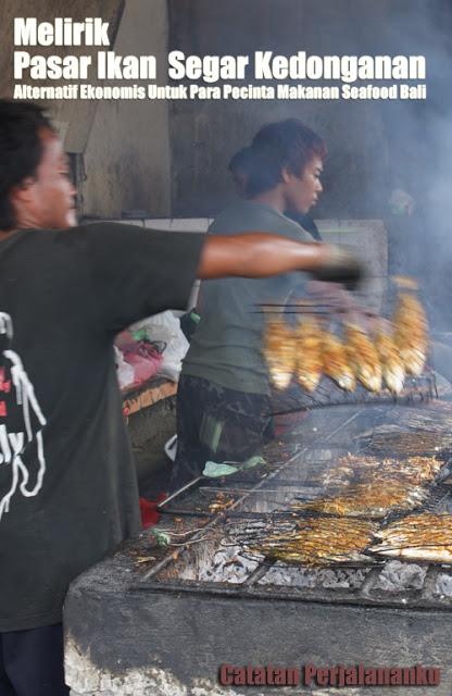 Pasar Ikan Segar Kedonganan ini adalah salah satu pusat untuk belanja ikan segar di Bali Selatan.