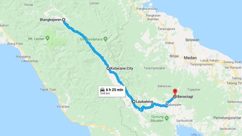 Day 4 - 11 Maret 2019 Blangkejeren - Brastagi (via Kutacane, Laubaleng)